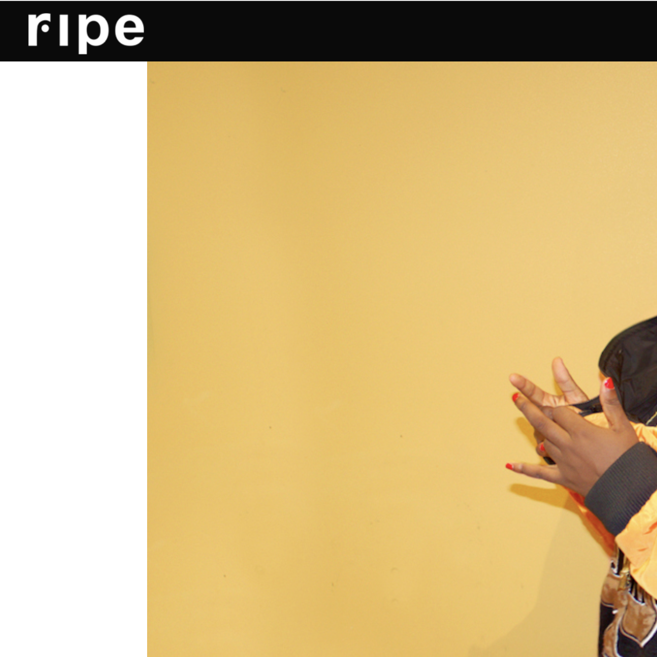 Ripe: Feature - April 20th 2018