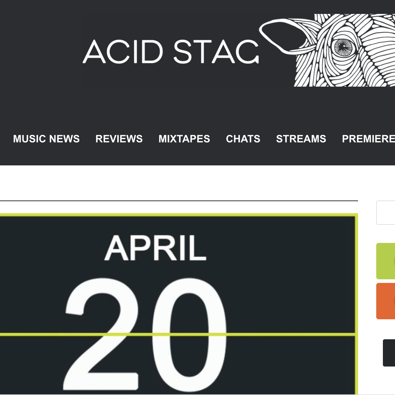 Acid Stag - April 20th 2018