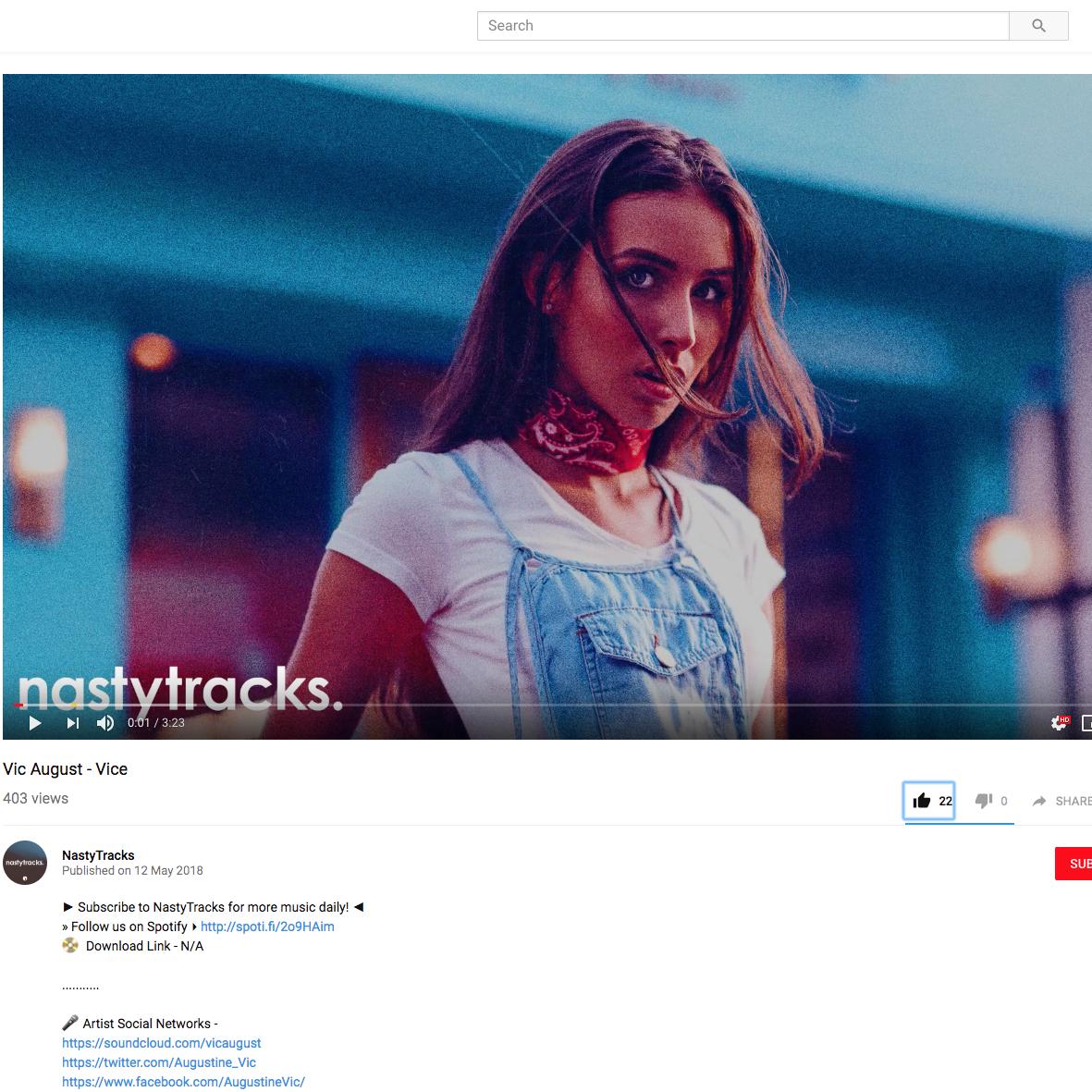 Nastytracks - May 12th 2018
