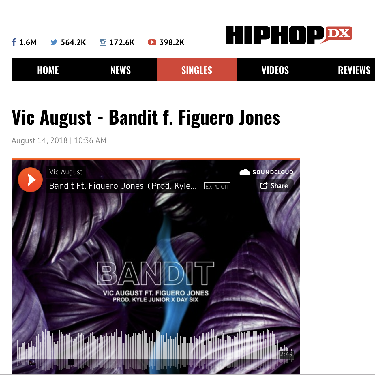 HipHopDX - August 14th 2018