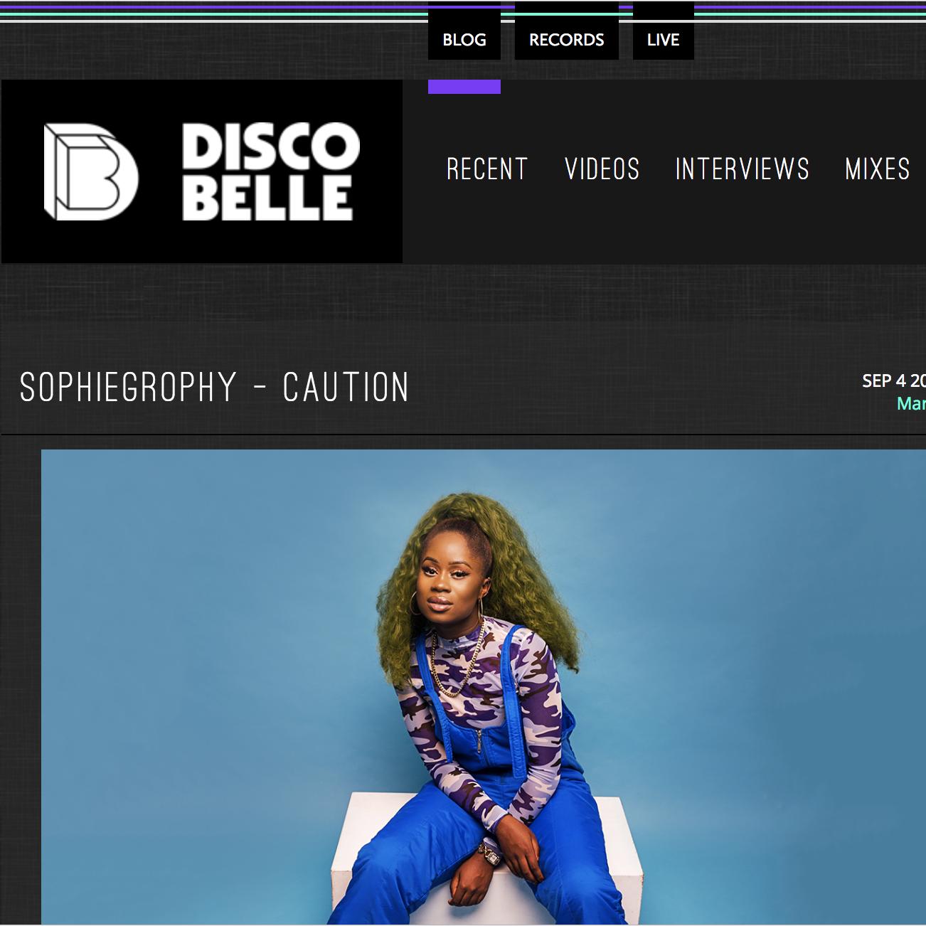 Discobelle - September 4th 2018