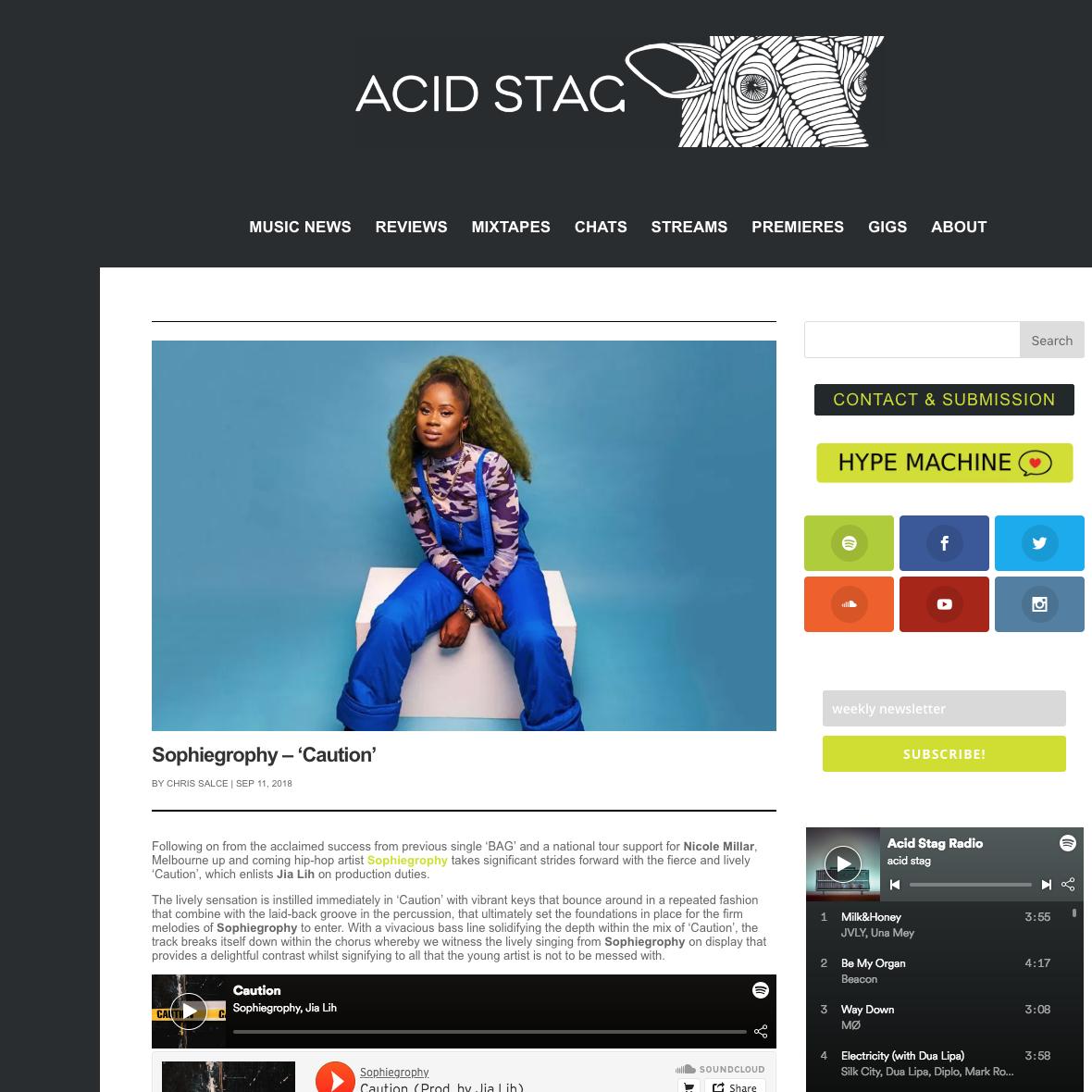 Acid Stag - September 11th 2018