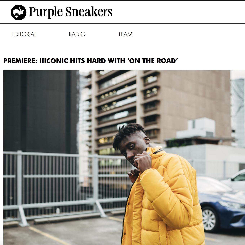 PREMIERE: Purple Sneakers - September 28th 2018