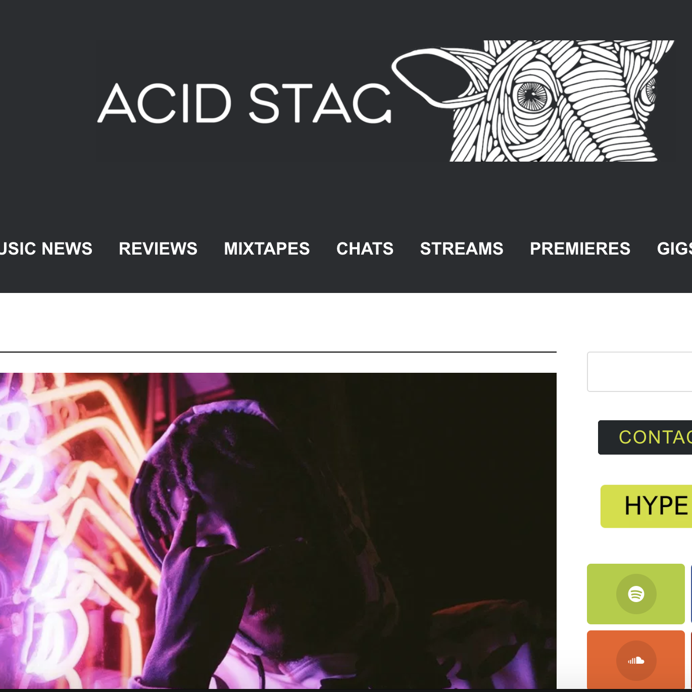 Acid Stag - October 9th 2018