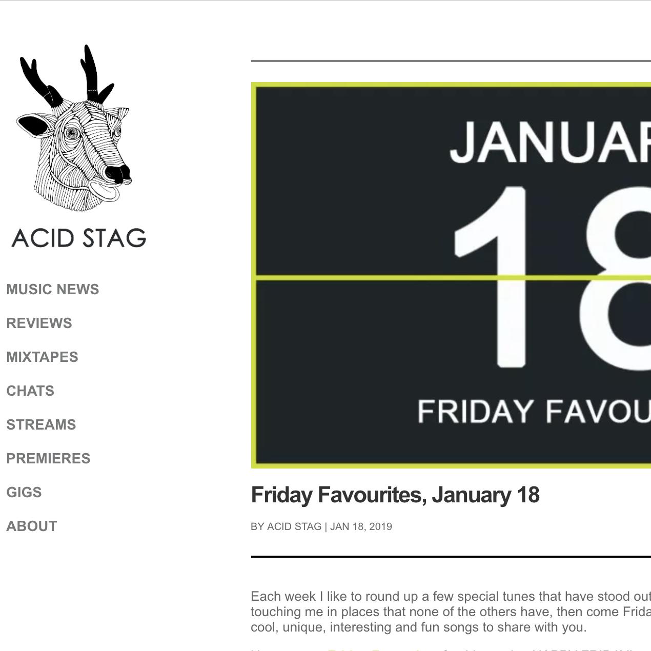Acid Stag - January 18th 2019