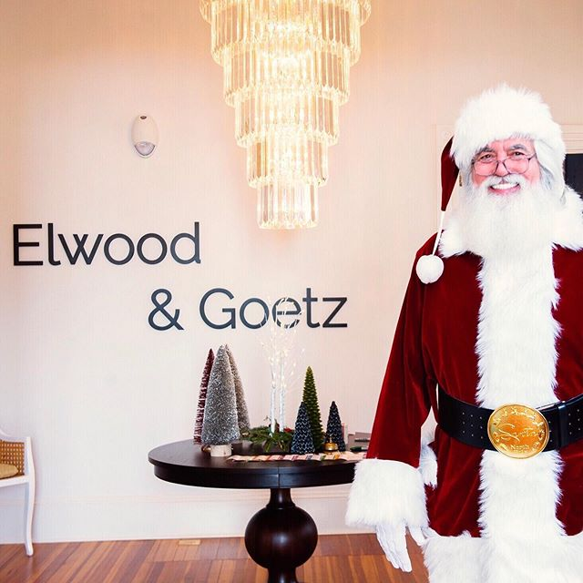 This Santa is the real deal. And, no, he wasn't here just for the kids. This year our Santa wish list includes a request for an office doggie. After all, anything is possible this time of year. Thanks to everyone who joined us for the open house festivities. You made our weekend + our holiday. ❤️ #financialplanning #holidayparty #thegreenhouse #santa