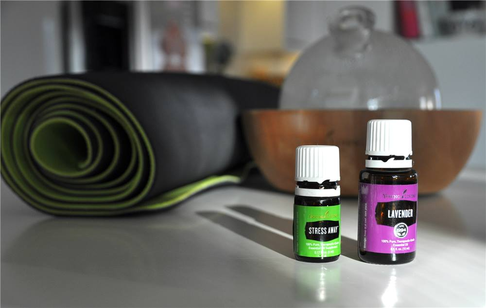 Young Living Lavender & Stress Away Essential Oils