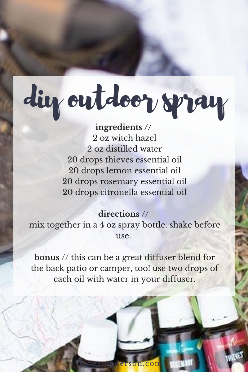 diyoutdoorspray