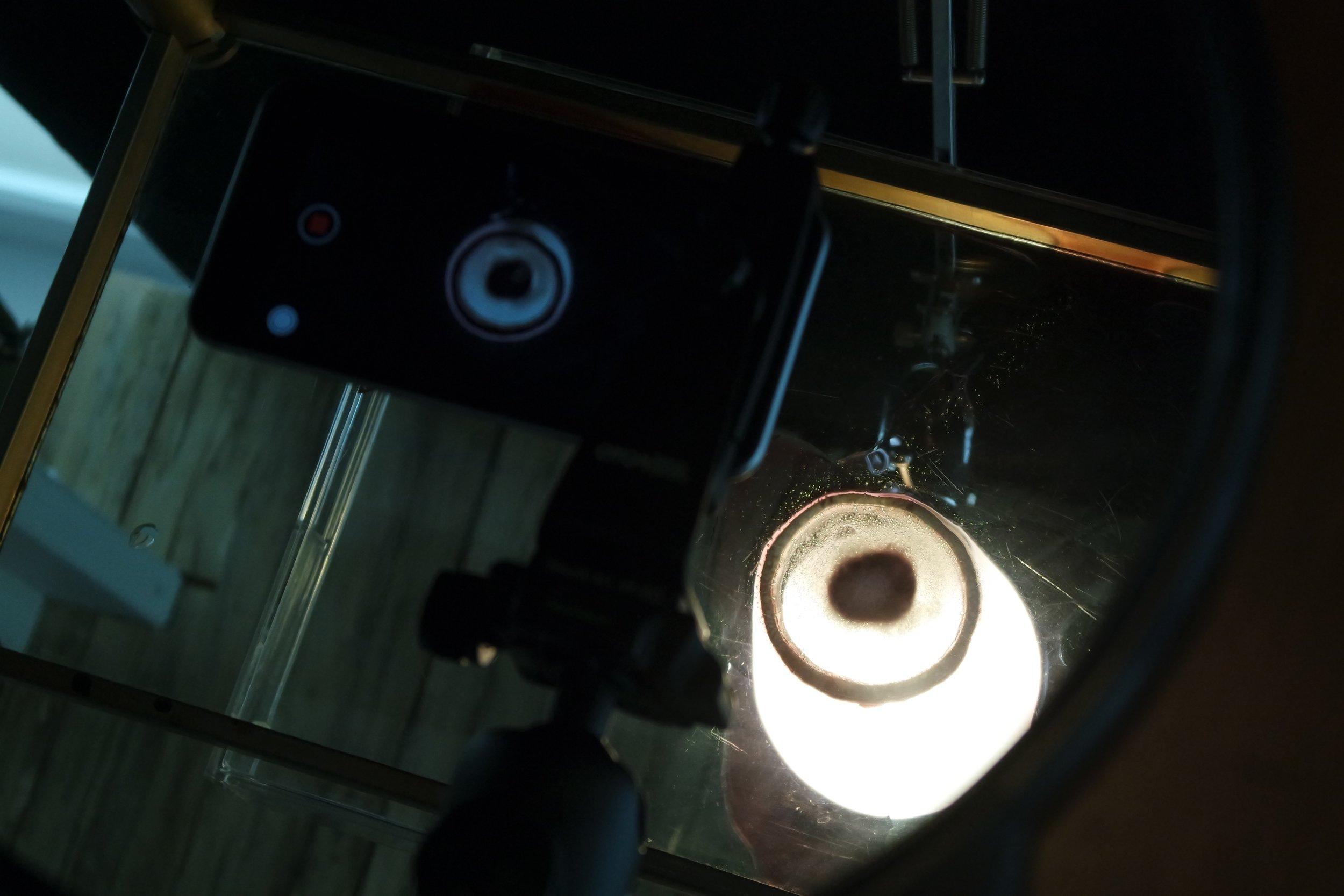 Production monitor.