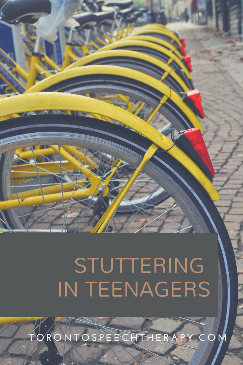 teens who stutter at well said toronto speech therapy