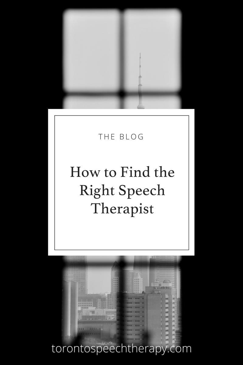 How to find a speech therapist, communication coach, speech teacher, or speech-language pathologist