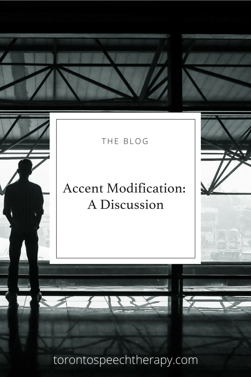 Accent Modification, Accent Softening, Accent Reduction, all names for this type of speech therapy | from Well Said: Toronto Speech Therapy, Toronto-based Speech-Language Pathologists