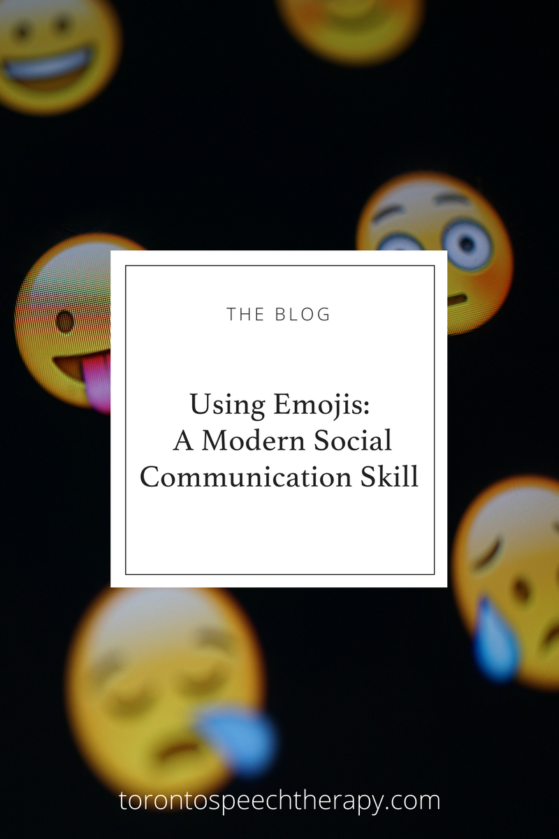 A Blog Post from the speech-language pathologist at Well Said: Toronto Speech Therapy about communicating online.