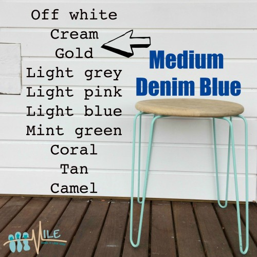 Medium denim blue