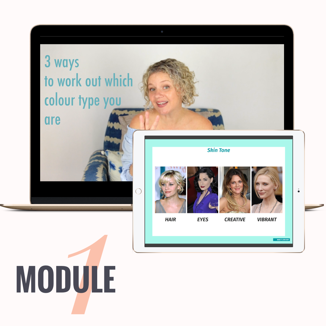 DISCOVER YOUR COLOUR TYPE LIKE A BOSS - Find out straight from me if your skin undertone is blue, peach, pink or orange.