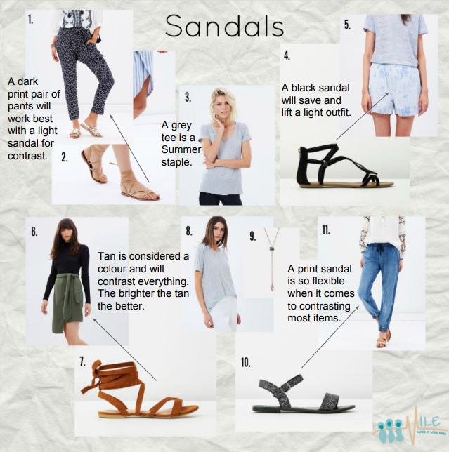 Black Tan Print Sandals.PNG