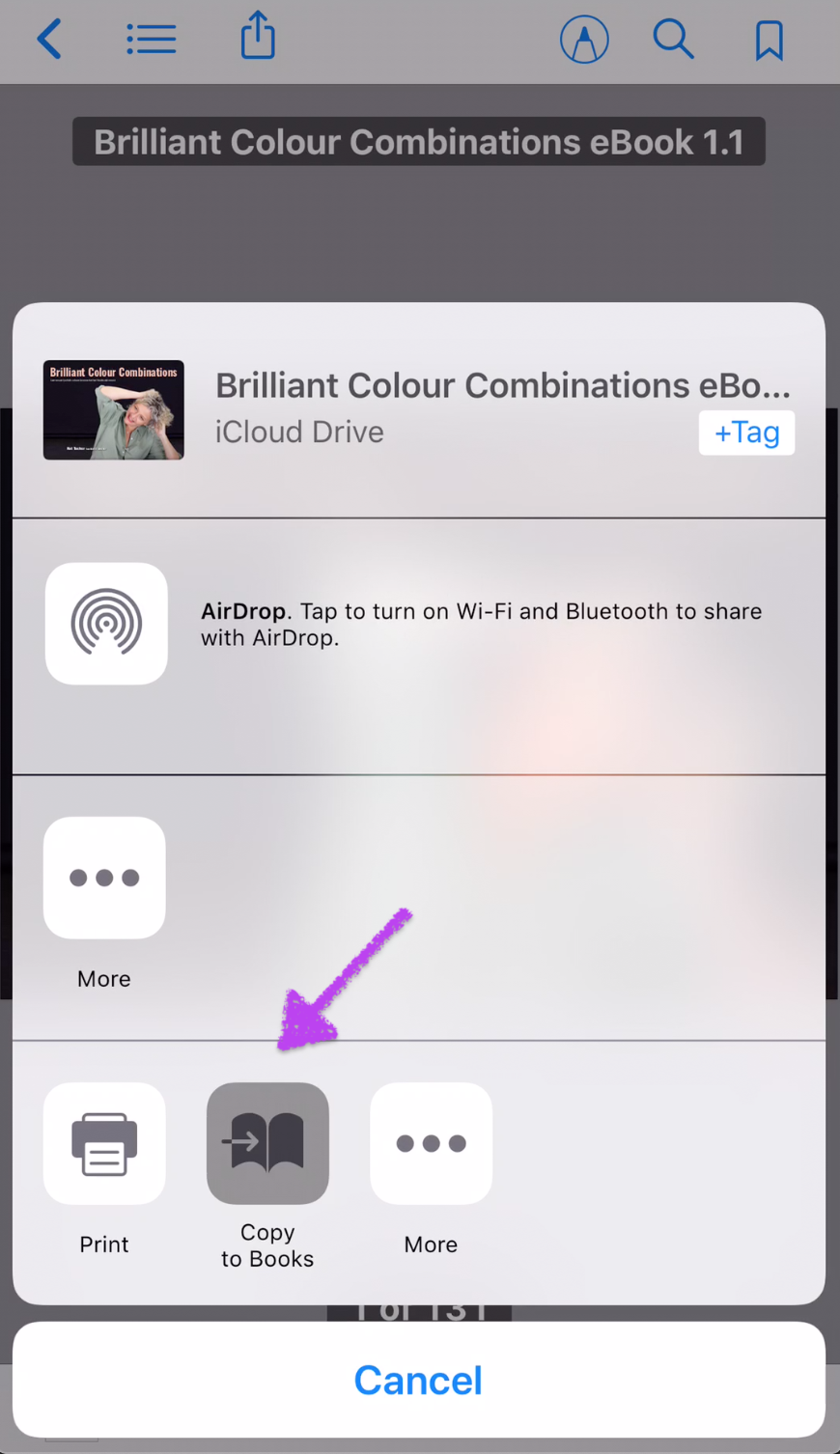 How to save PDF eBooks to iBooks on Your iPhone or iPad