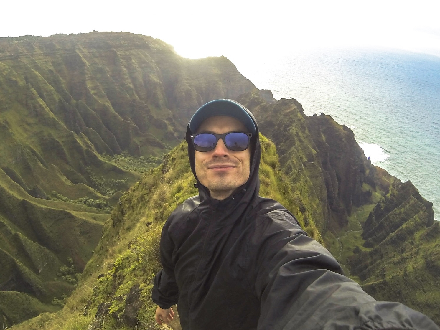 Inspiring Views - Few destinations that I've so far visited have inspired such love for our planet as the Hawaiian island of Kaua'i. Astounding natural beauty and the sincere aloha spirit made this solo trip one of the most amazing experiences of my life. Here, I stood at the end of the Awa'awapuhi Trail, overlooking the incredible Nāpali Coast.