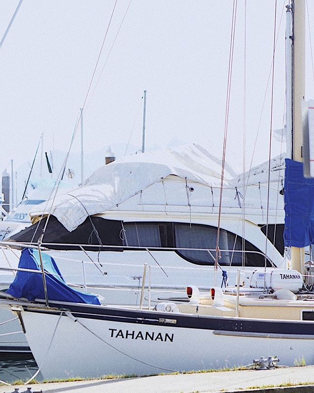 """Tahanan� in Filipino means ""home.� Came across this boat docked in Seward Harbor. There have always been pieces of home in Alaska. Count my lucky stars every day that this is where I ended up. 🇵🇭🇺🇸 . . . . #alaskalife #boatlife #alaska #alaskera #sewardalaska #alaskaadventure"
