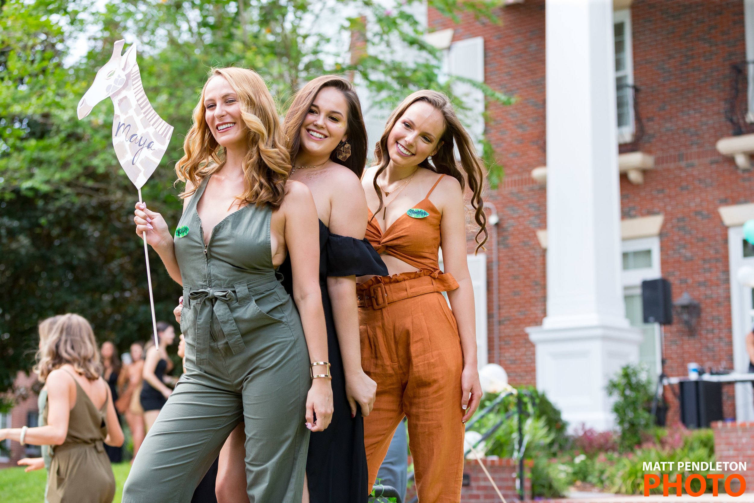 Images from the UF Bid Day 2018 on Sunday, August 26, 2018 at UF Sorority Row in Gainesville, FL. Photo by Matt Pendleton/Matt Pendleton Photography for UF Student Affairs Communications