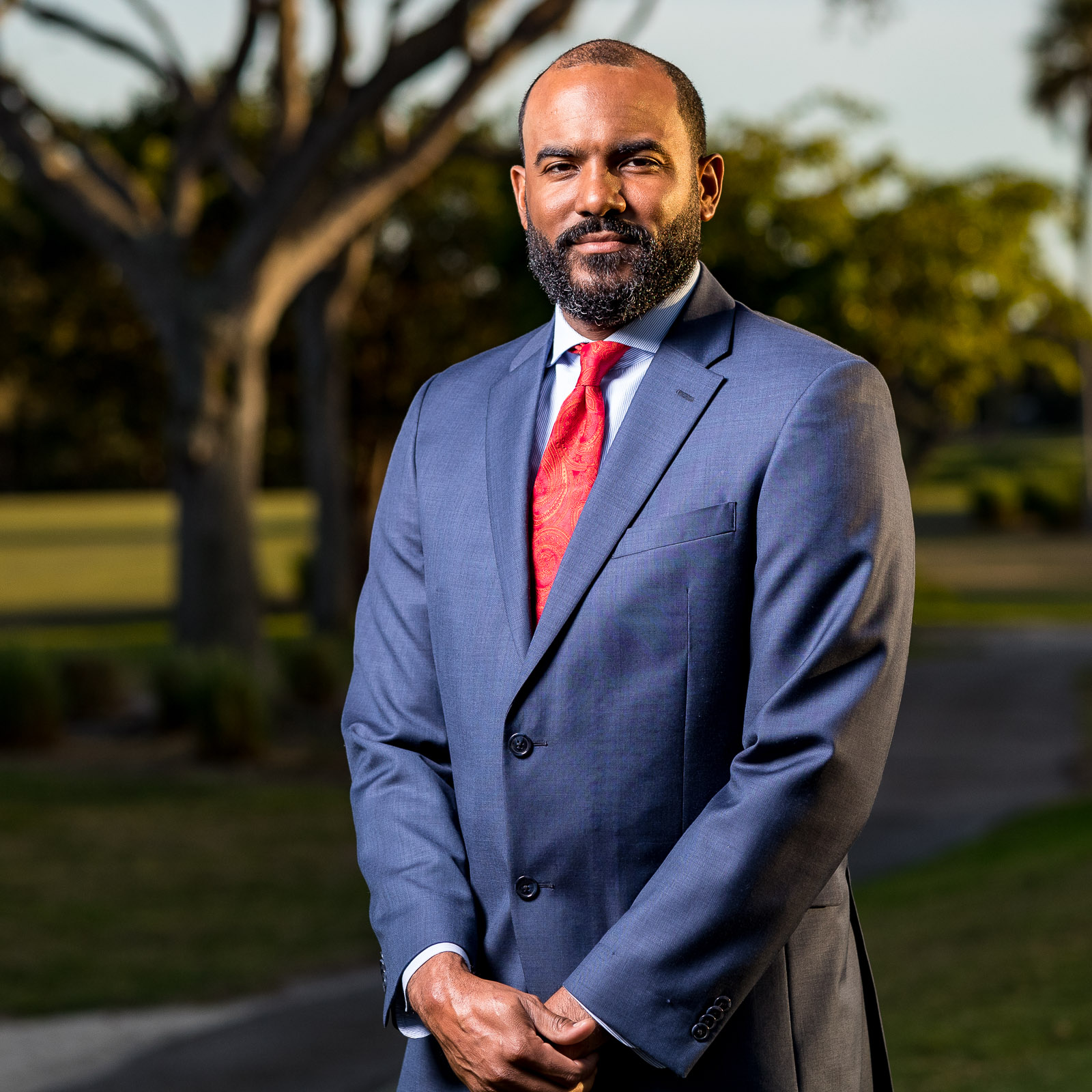 Images from the head shot session with Dean Taylor on Saturday, January 19, 2019 at the Miami Shores Country Club in Miami Shores, FL / Photo by Matt Pendleton for Matt Pendleton Photography.