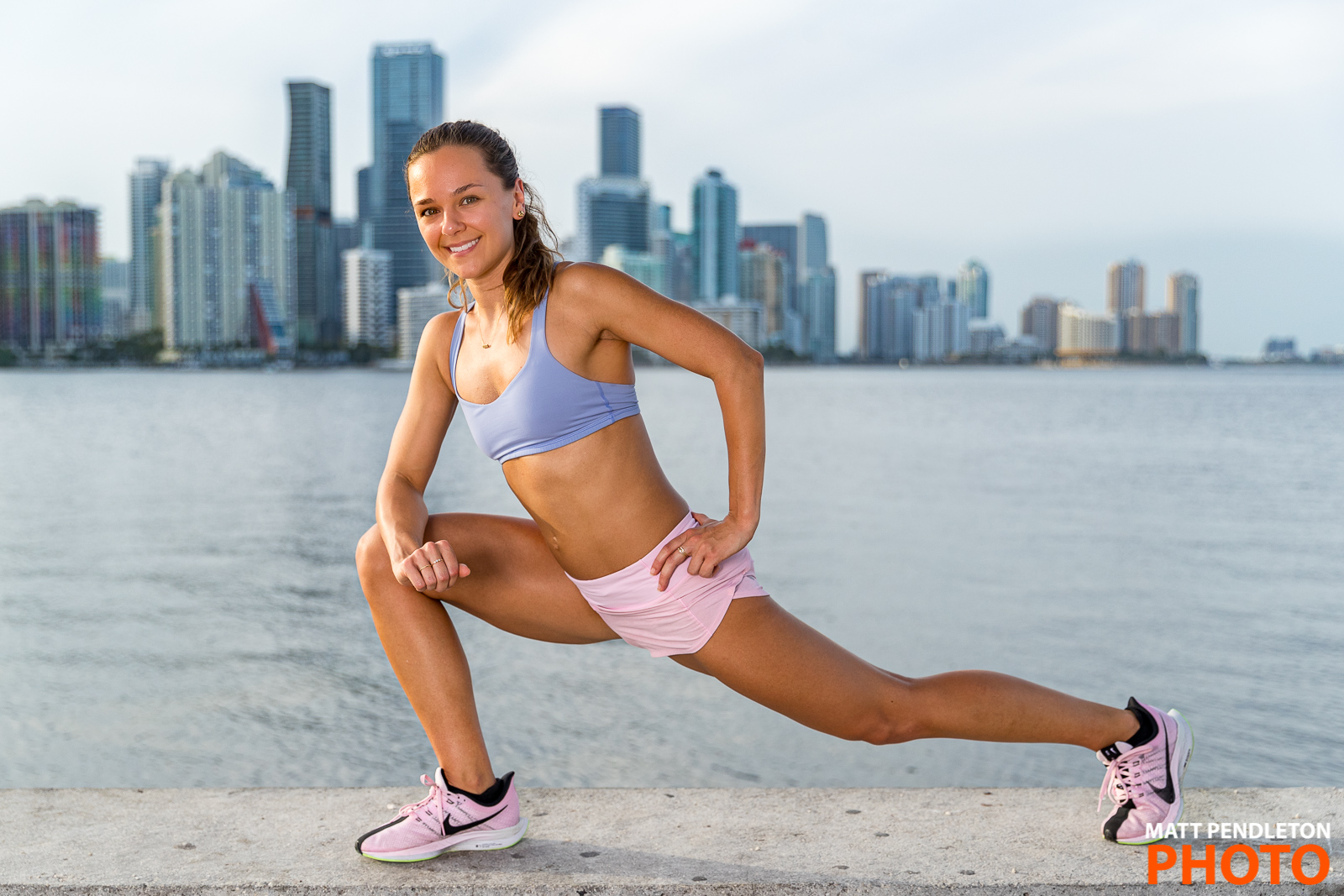 Fitness photo session with Lindsey Gass on Saturday, June 22, 2019 at the Rickenbacker Causeway in Miami, FL.