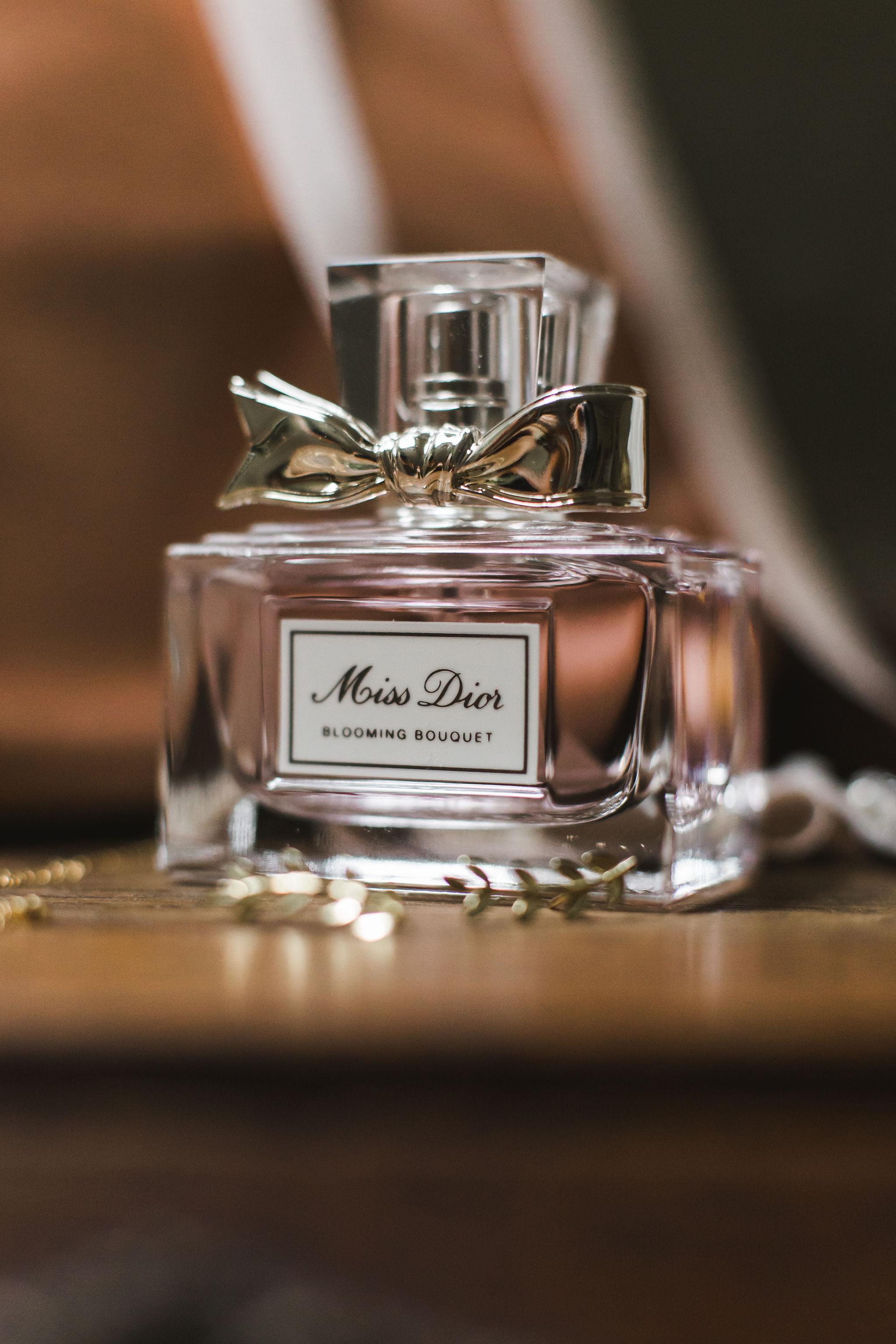 Miss Dior Blooming Bouquet Perfume Wedding Details