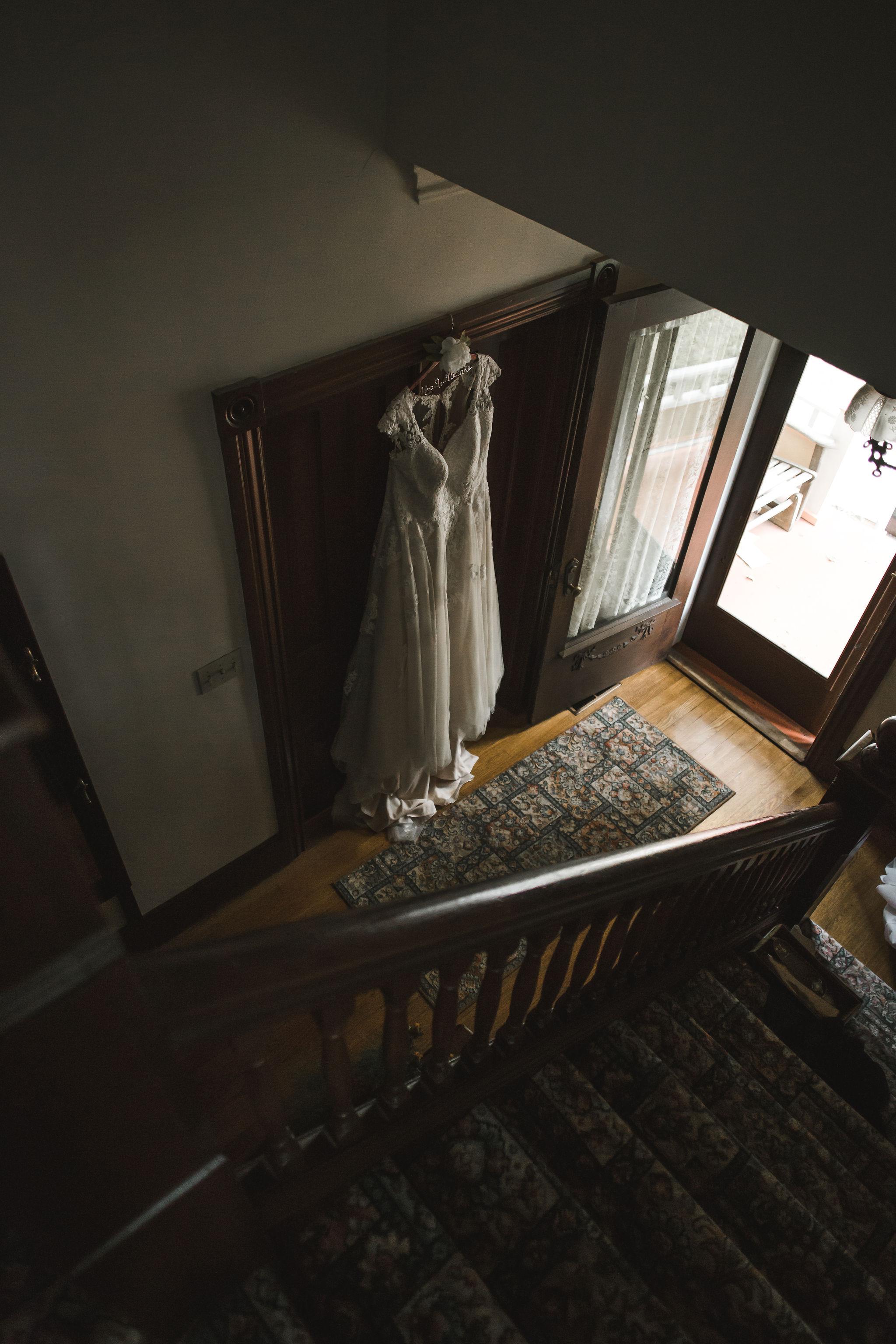 Backyard Wedding All Lace Wedding Dress