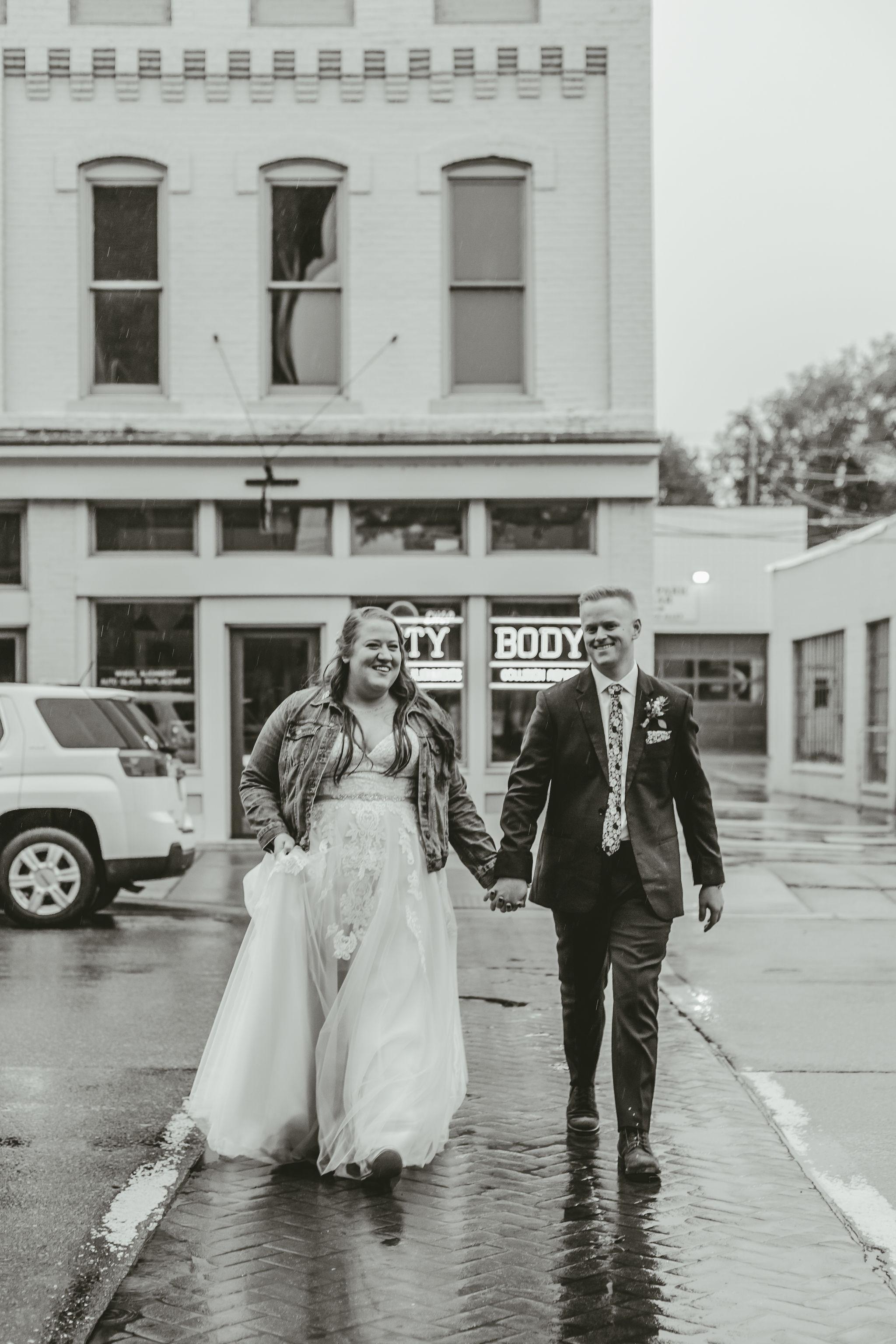 Downtown Ypsilanti Wedding Photos