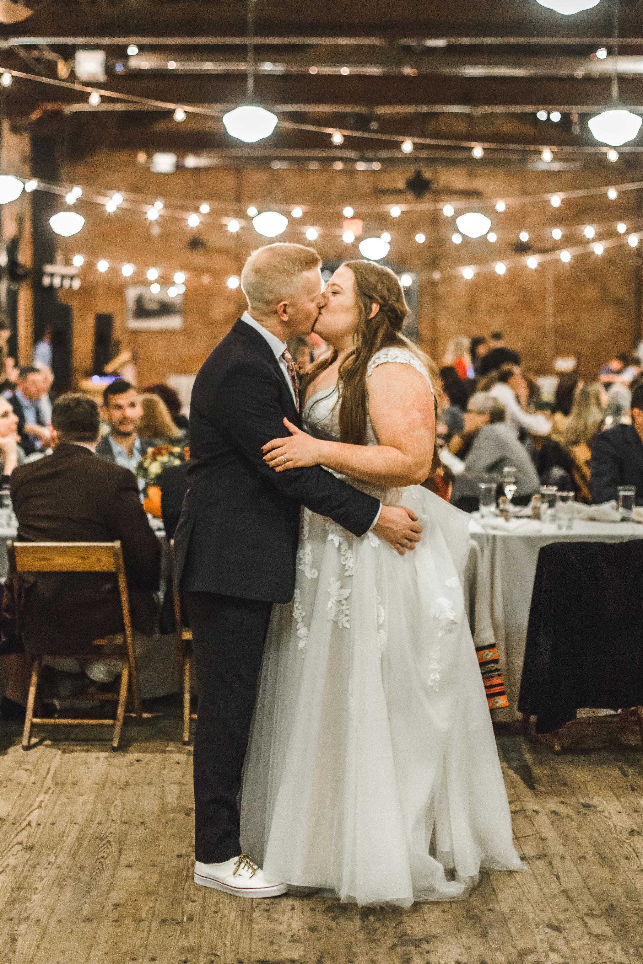 Ypsilanti Freighthouse Wedding Reception