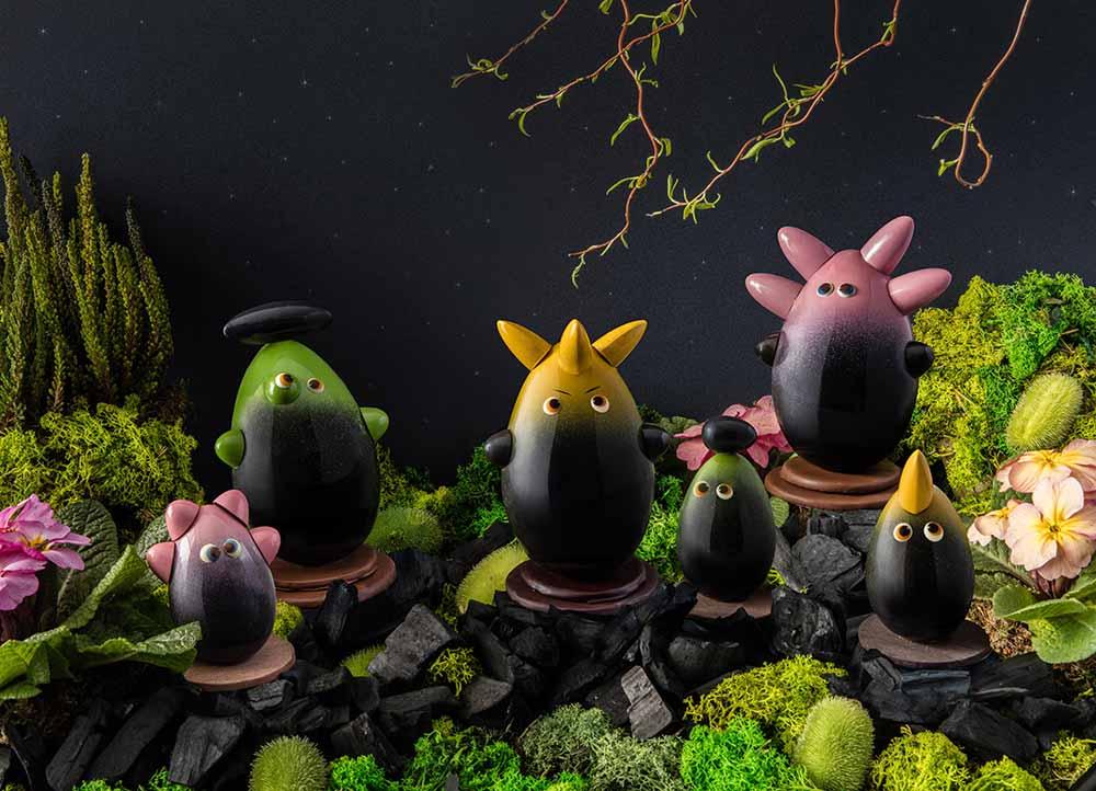 Hillis and Mini-Hillis by Edwart Chocolatier – 39€