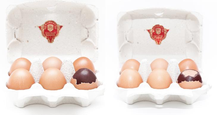 Box of 6 praline eggs by Maison Bonnat – 48€ - Image courtesy of Maria Spera