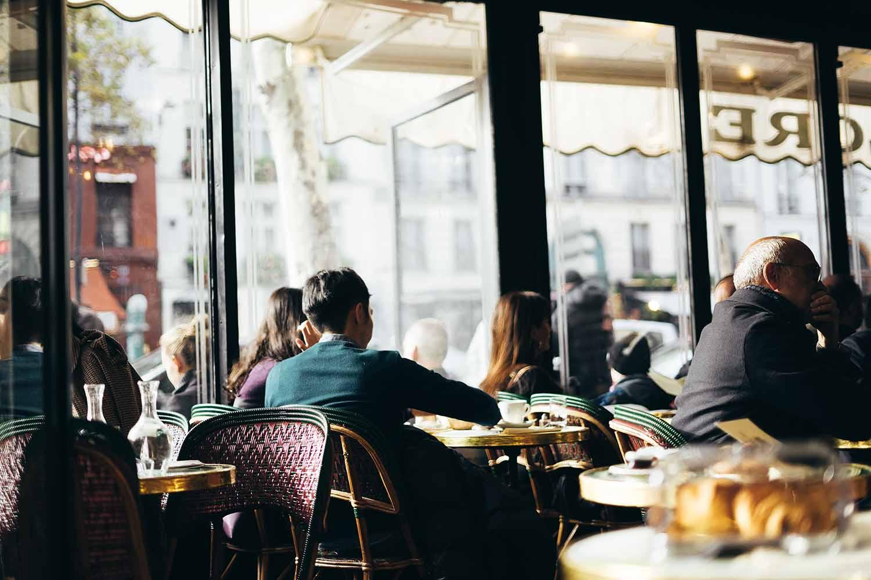 Cafe de Flore, Saint Germain des Prés