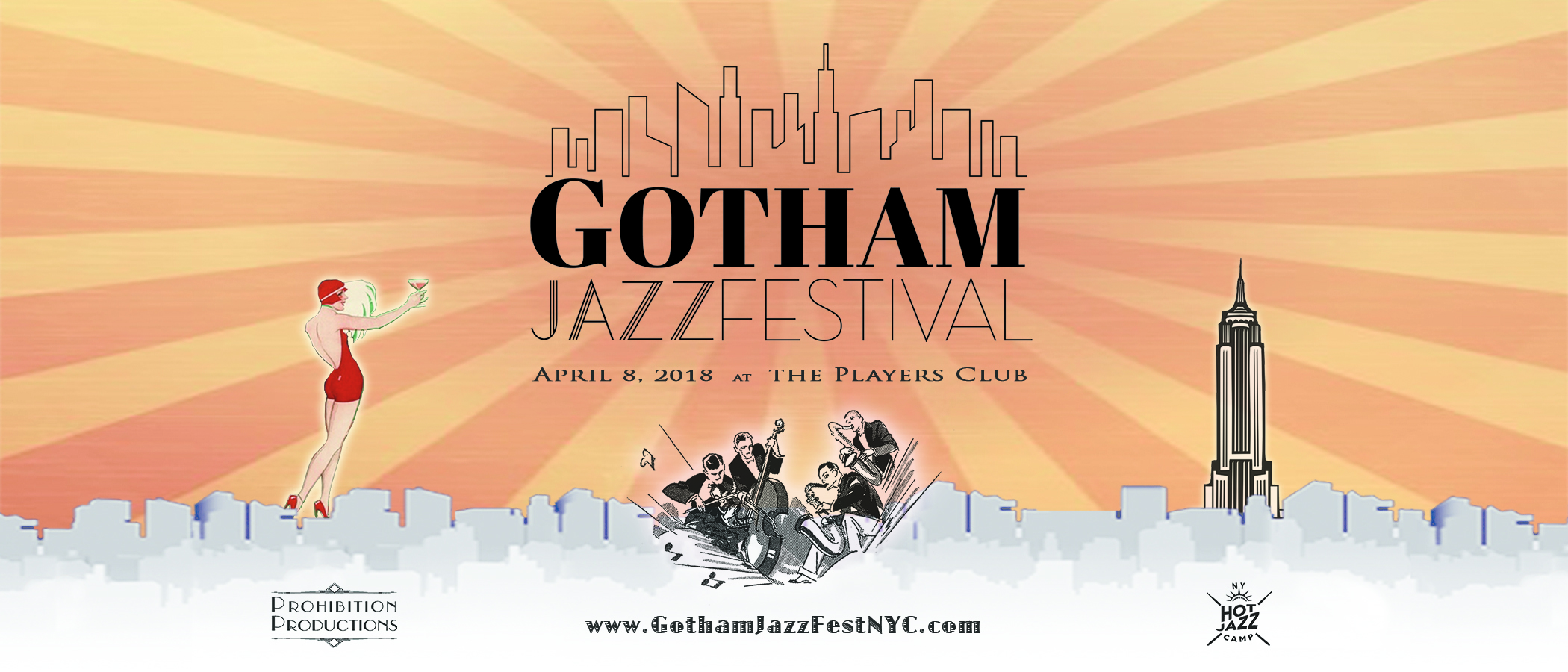 GOTHAM JAZZ FESTIVAL (April 8, 2018)