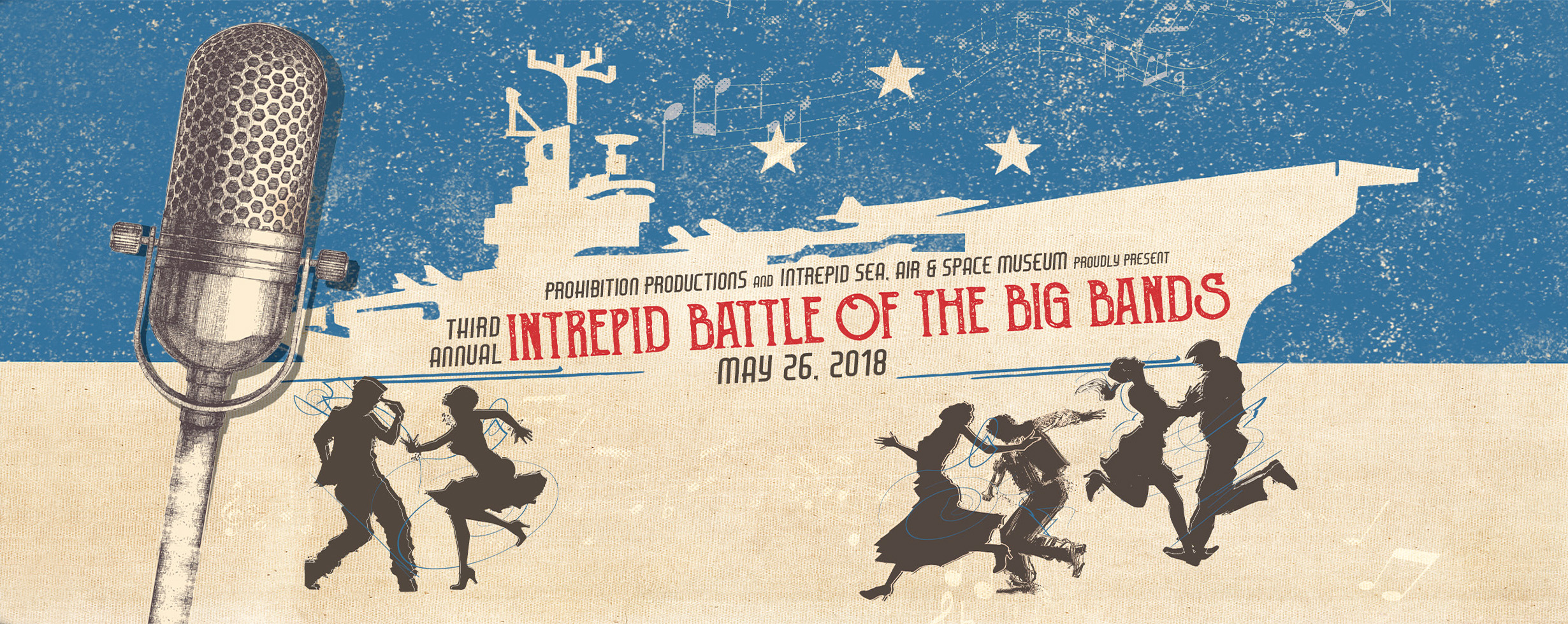 INTREPID: Battle of Big Bands (May 26, 2018)