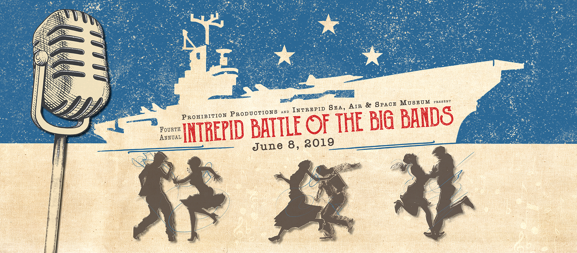 INTREPID: Battle of the Big Bands (June 8,  2019)
