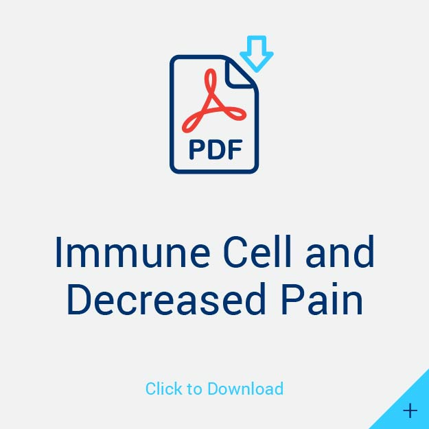 Immune Cell and Decreased Pain