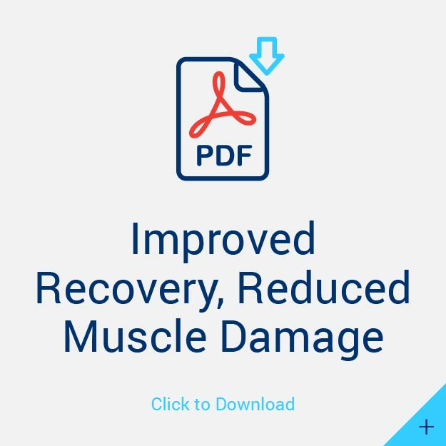Improved Recovery, Reduced Muscle Damage