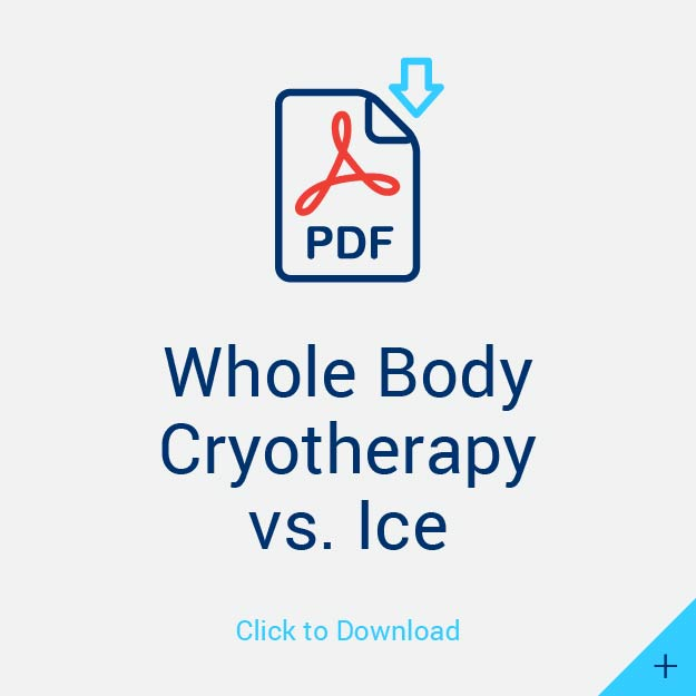 Whole Body Cryotherapy v. Ice