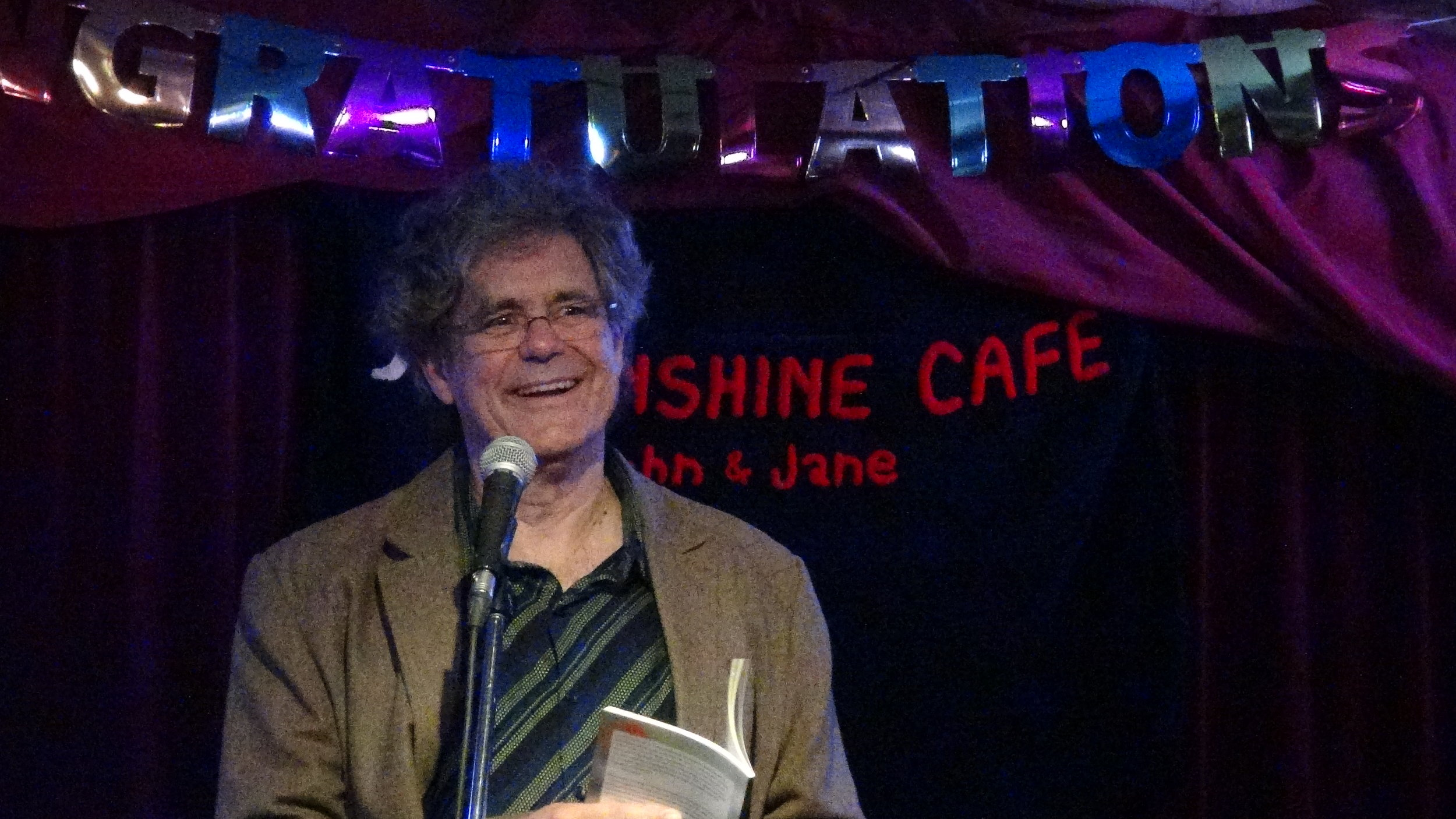 Scholar, writer and prolific poet  Laurence Hutchman  reads from his latest non-fiction poetry collection  Two Maps of Emery (Black Moss Press).  This August Laurence was given the honour of being named Poet Laureate of Emery (formally the Weston Rd area of Toronto).
