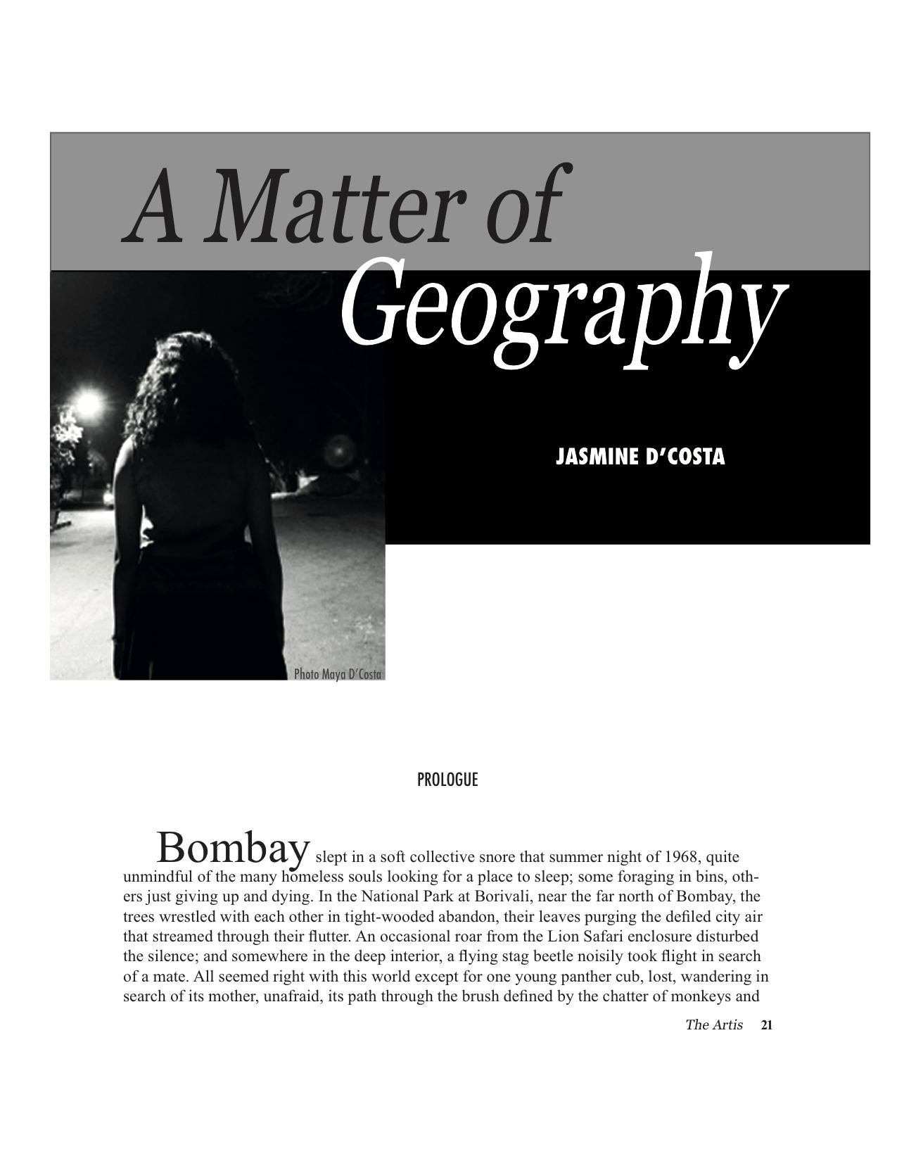 A Matter of Geo cover.jpg