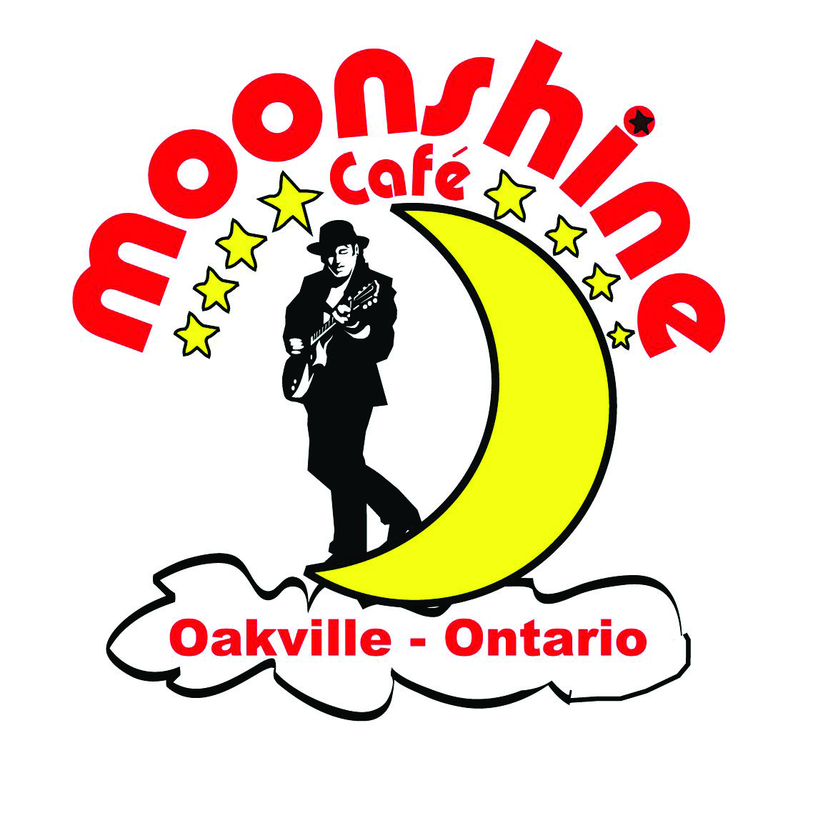 The Moonshine Cafe is Oakville's first and primary music venue since 2003, hosting some of the acts in Canada.    Located at 137 Kerr St in Oakville, Ont.    Visit www.TheMoonshineCafe.com to see their events calendar, pics, or just drop in for a beer and hear great music!