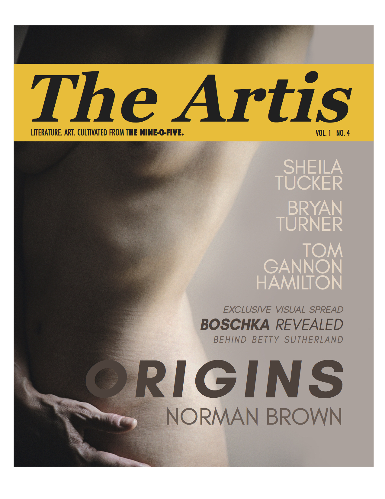 Order past issues here or find The Artis magazine in Indigo Spirit in Oakville, ON, and other bookstores and libraries. - Preview past issues of The Artis in the Archives tab up above. See Artis 3 here