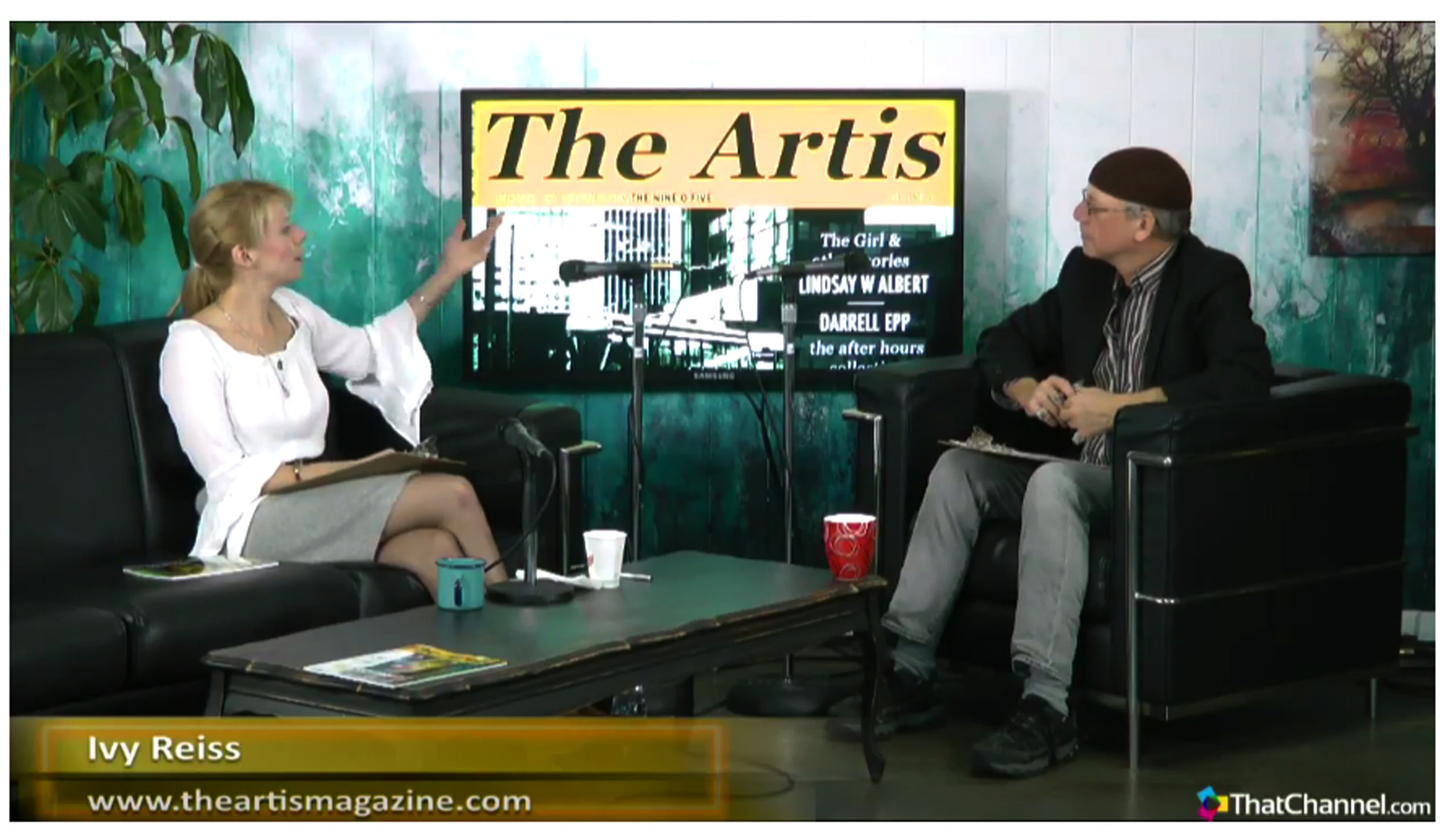 In    ThatChannel studios    with Hugh Reilly. Listen above or    watch the video here.
