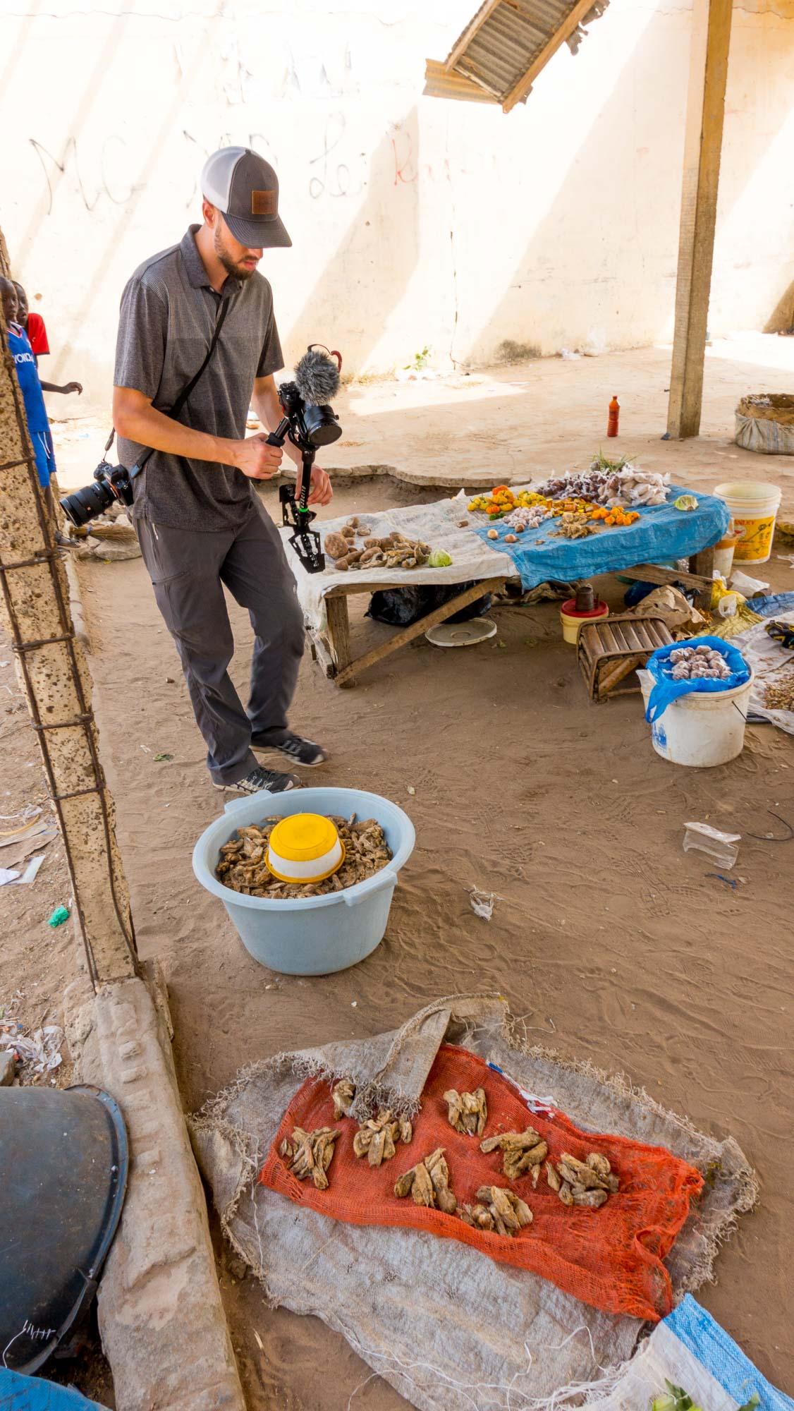 fish market behind the scenes