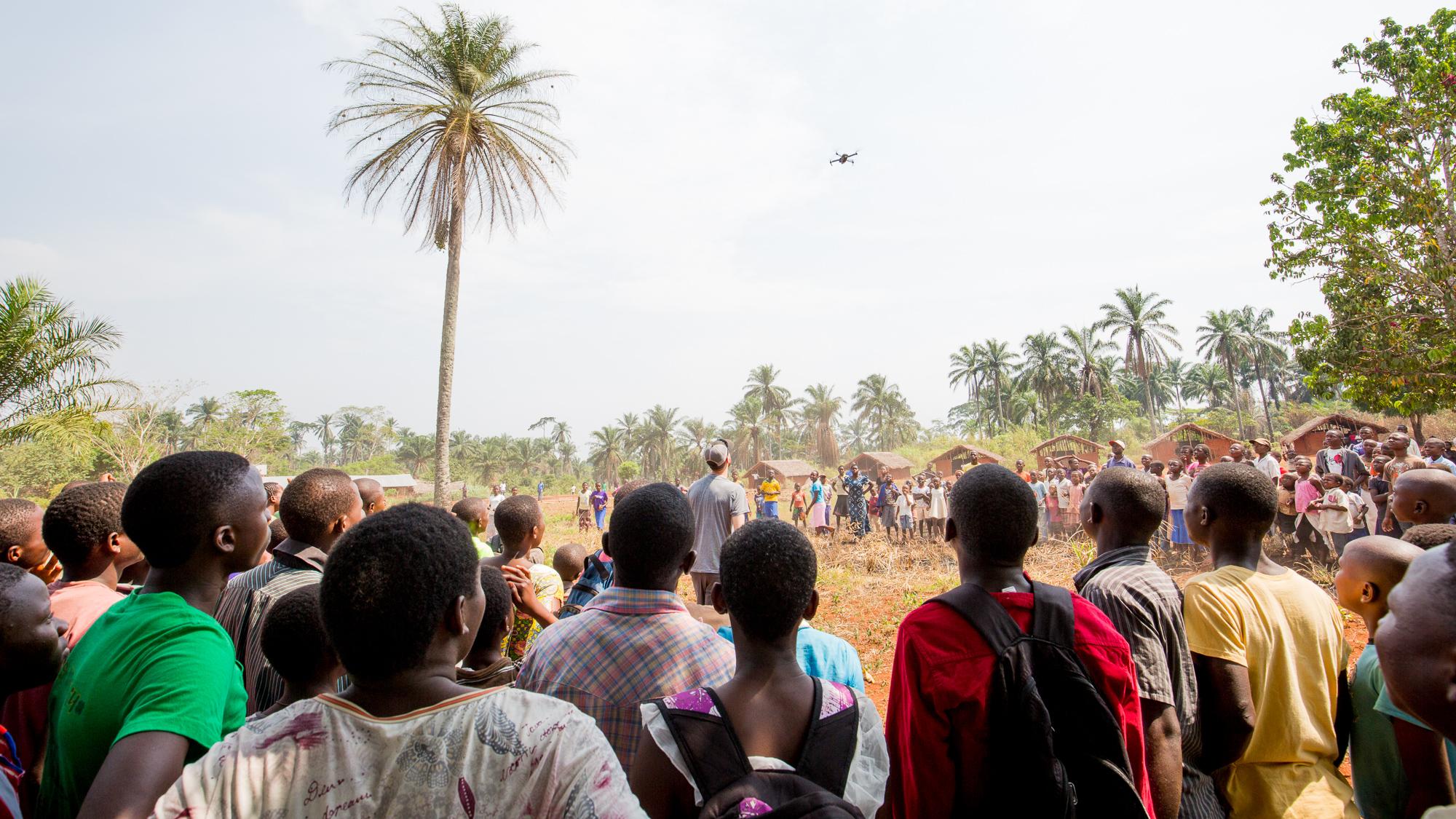 Simon DR Congo Drone
