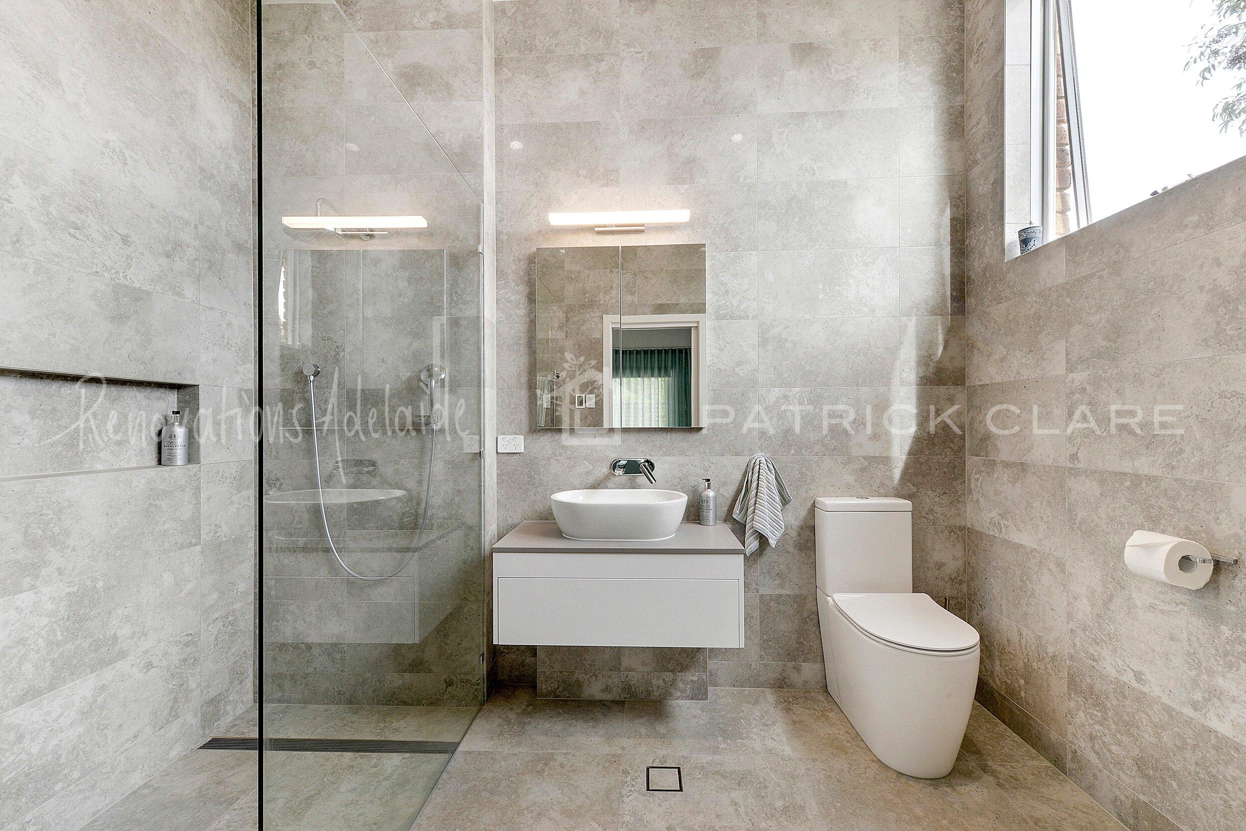 Bathroom Renovations Adelaide - Bathroom Designers - Patrick Clare