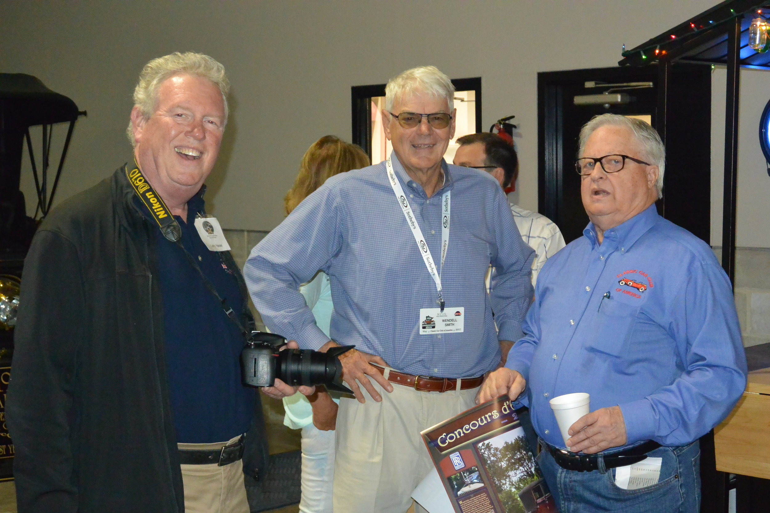 Left to right, Spirit Region members Larry Hassel, Wendell Smith and Fred Guyton