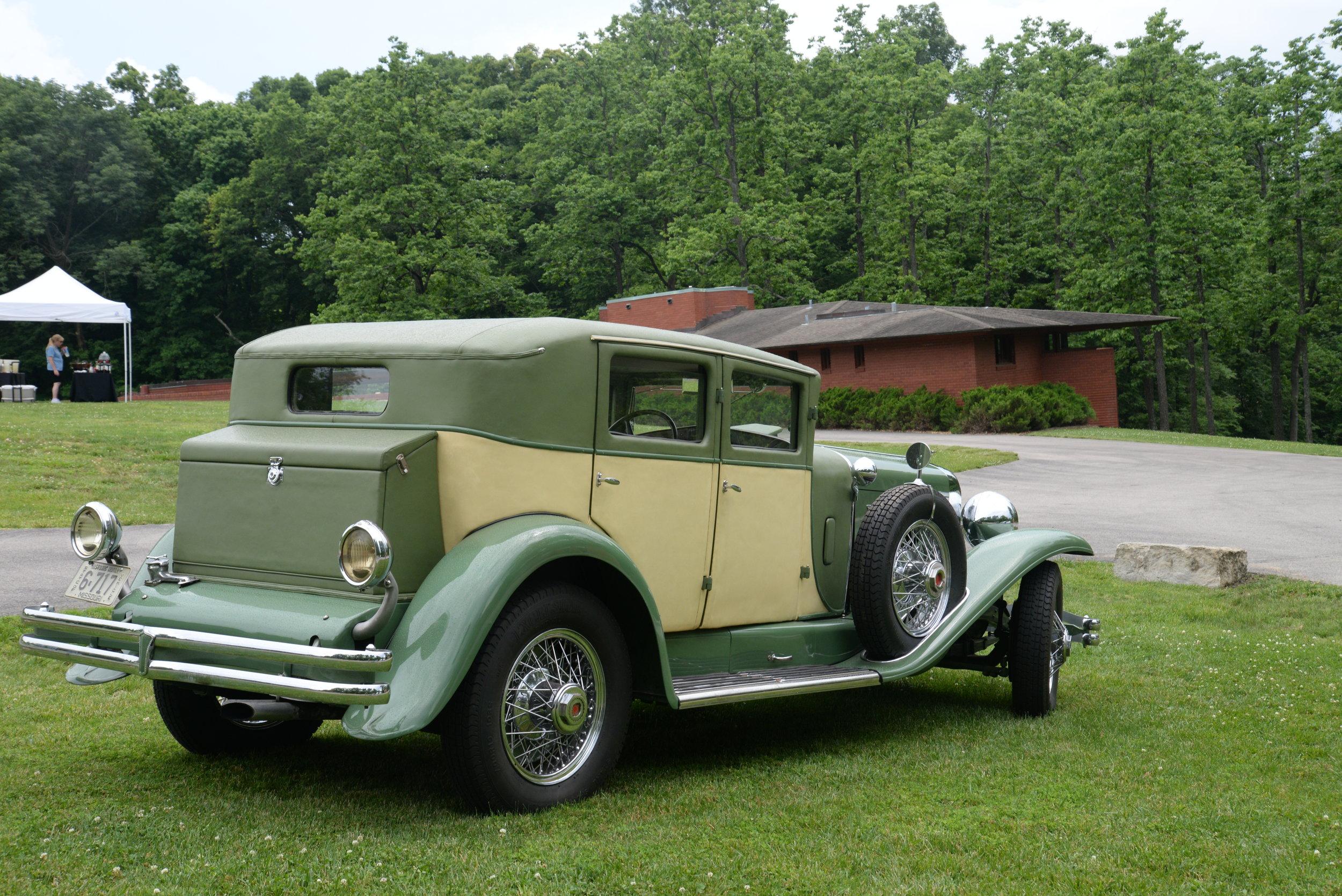 Richard Quick's 1929 Duesenberg J Sedan - stunning at any angle!