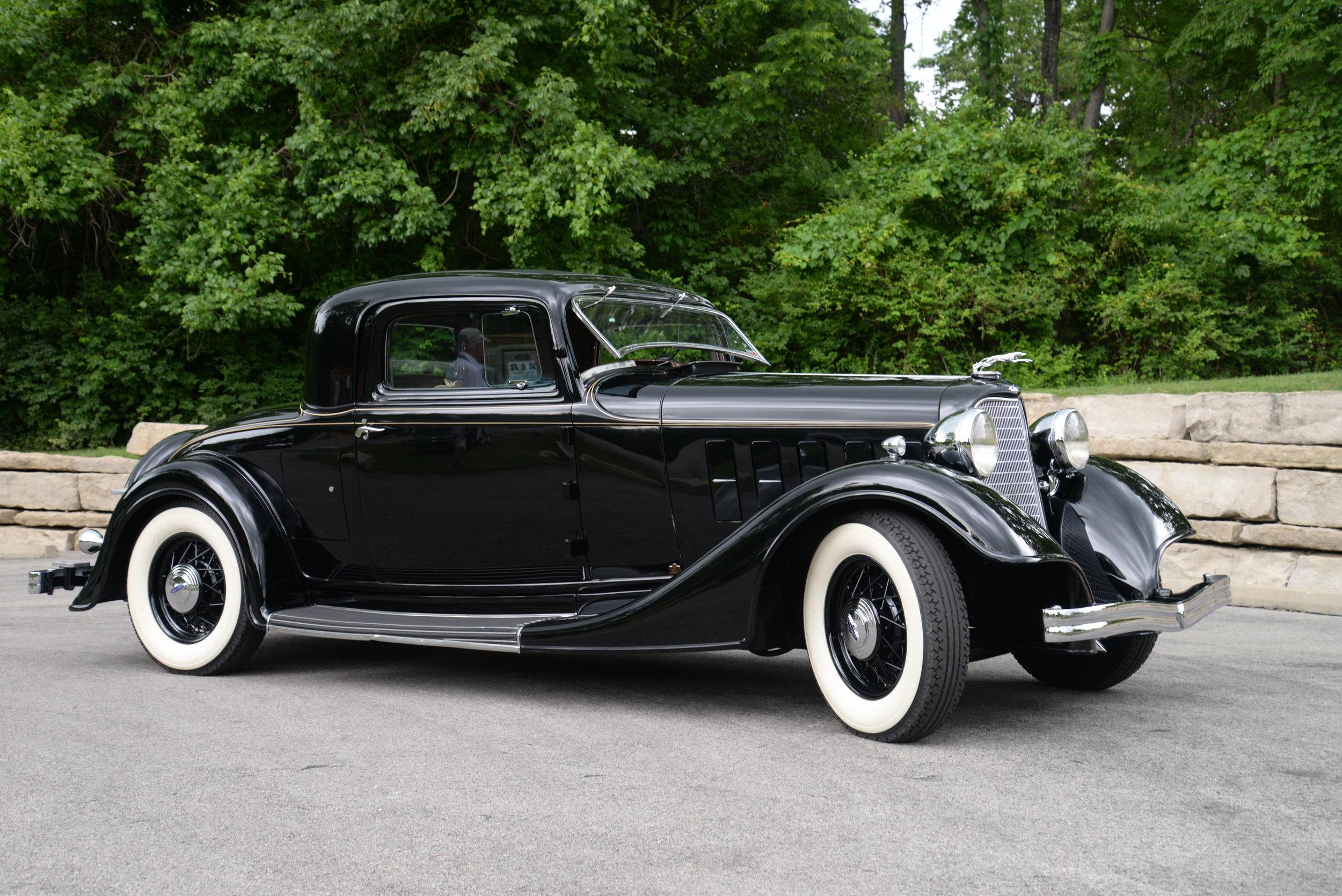Bill Mehard's rare 1934 Lincoln KA Coupe